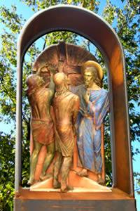 Santuario de San Gabriel de la Dolorosa, Gran Sasso - Italia